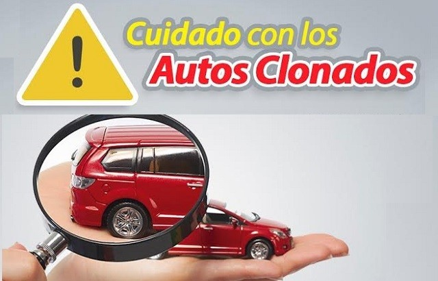 autos clonados REPUVE